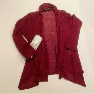 Glam and fame red cardigan